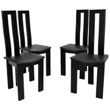 sculptural black lacquer dining chairs by pietro costantini made