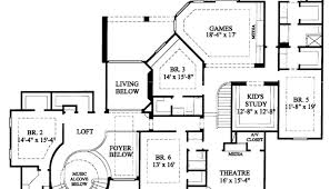 six bedroom floor plans house plans 6 bedroom luxamcc org