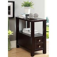 narrow bedside table narrow bedside table amazon com
