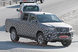hilux toyota hilux pickup spied could preview new toyota tacoma