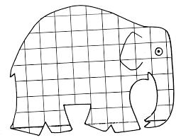 elmar elefant ausmalbild u2026 pinteres u2026