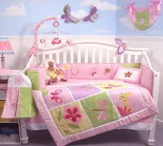 Nursery Bedding Set Soho Butterflies Baby Crib Nursery Bedding Set 13 Pcs