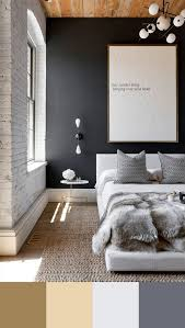 perfect bedroom interior design color schemes vintage industrial