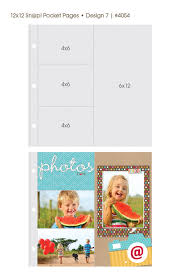 Photo Pages 4x6 Simple Stories Pocket Pages 4x6 U0026 6x12 Sn P Studio