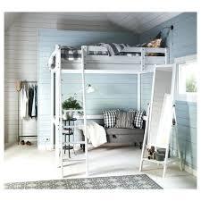 loft bed frame walmart with desktop svarta ikea coccinelleshow com