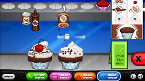 papa s cupcakeria jeu de cuisine d un restaurant de cupcakes mimibuzz
