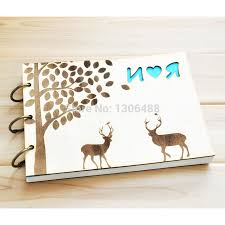 wedding gift book personalized wedding guest book rustic wedding guestbook