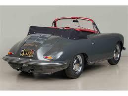 porsche 356 cabriolet 1964 porsche 356 carrera 2 cabriolet for sale classiccars com
