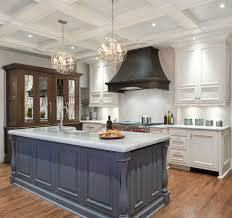 Blue Kitchens With White Cabinets Appealing Kitchen Colors With White Cabinets And Blue Countertops