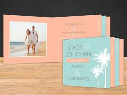 Booklet Wedding Programs Destination Wedding Invitations With Room For All The Details