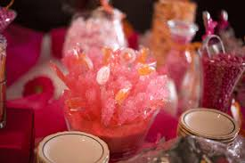 Candy Table For Wedding Pink U0026 Orange Candy Table For Wedding Candy Tables Pinterest