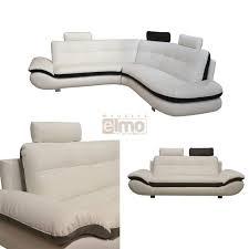 canape bicolore design canapé angle contemporain design bicolore canapé marron pas cher