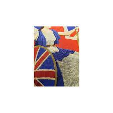 Blue Union Jack Cushion Union Jack Cushion British Union Jack Cushions