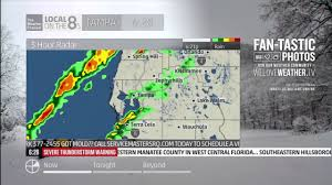 Map Tampa Florida by Severe Weather Local On The 8s Tampa Fl January 22 2017