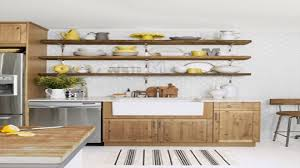 open kitchen cabinets and shelving rustic wooden in about open