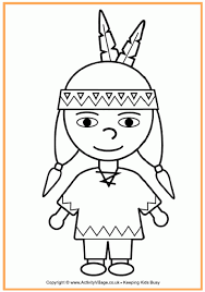 native american coloring pages free coloring native american
