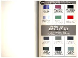 tamiya color guide book by model art hobbylink japan
