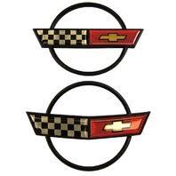 c4 corvette emblem corvette original parts factory oem parts