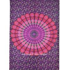 Where To Get Cheap Tapestry Mandala Wall Tapestry Indian Cotton Bedding Twin Bedspread