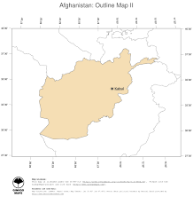 Oceania Blank Map by Map Afghanistan Ginkgomaps Continent Asia Region Afghanistan