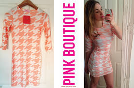 pink boutique dresses pink boutique acosta pink bodycon dogtooth mini dress