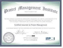 certified associate in project management wikipedia