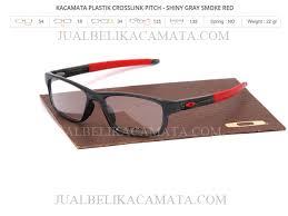 Jual Kacamata Oakley Crosslink jual frame kacamata branded sporty crosslink pitch gray smoke jual