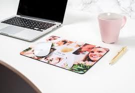 tapis de bureau personnalisé tapis de souris personnalisé avec photo smartphoto