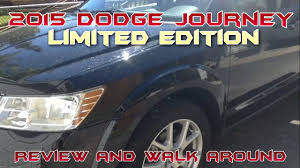 Dodge Journey Jack - 2015 dodge journey limited edition review and walk around youtube