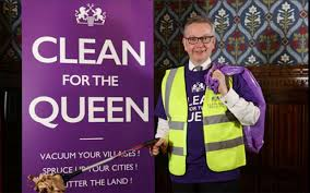 Cleaning For Lazy People The U201cclean For The Queen U201d Campaign Is Tory Britain At Its Worst