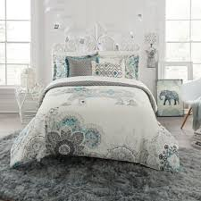 Bed Bath Beyond Austin Buy Teal And Grey Comforter From Bed Bath U0026 Beyond