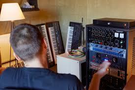 Home Studio Mixing Desk by In The Studio Gardens Of God U2013 Xlr8r
