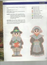 pilgrim napkin holder rings plastic canvas pattern