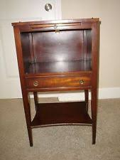 mahogany nightstand mid century modern antique furniture ebay