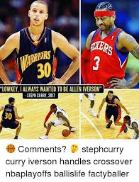 Allen Iverson Meme - hers ors lowkey i always wanted to be allen iverson steph curry 2011