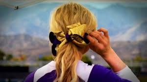 softball hair bows front rowe bows or no bows