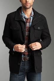 kenneth cole new york wool military melton coat hautelook