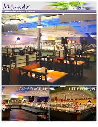 Minado Sushi Buffet by Peninsula Construction Inc Minado Carle Place Ny Little