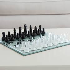 black and white mirror board chess set hayneedle