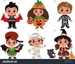 halloween kids stock vector 469946777 shutterstock