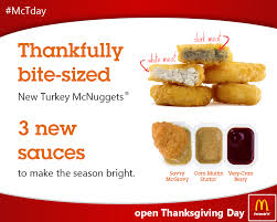 i saw they were advertising being open on thanksgiving so i made