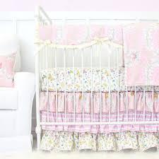 butterfly girls bedding brooklyn u0027s butterfly bumperless crib bedding caden lane