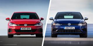 vw golf gti vs golf r u2013 which hatch is best carwow