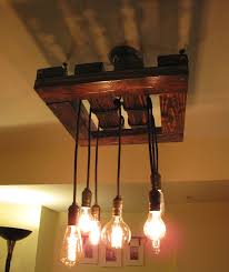 edison bulb wood light fixture hand made 18 5 x 18 5 by jdkfaire