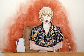 taylor swift u0027s trial see the courtroom sketches