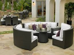 Patio   Patio Dining Sets - 7 piece outdoor dining set with round table