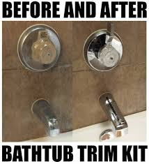 Bathtub Replacement Cost How To Update A Bathroom With Low Cost Bathtub Shower Fixtures