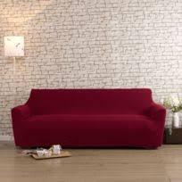 housse canap extensible 3 places housse de canapé 3 places achat housse de canapé 3 places pas cher