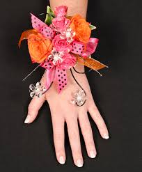 prom corsage prices hot pink orange prom corsage in newark oh edward price