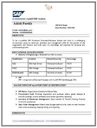 Resume Example For Freshers Engineers by Resume Format For Freshers It Engineers Free Download Resume Format